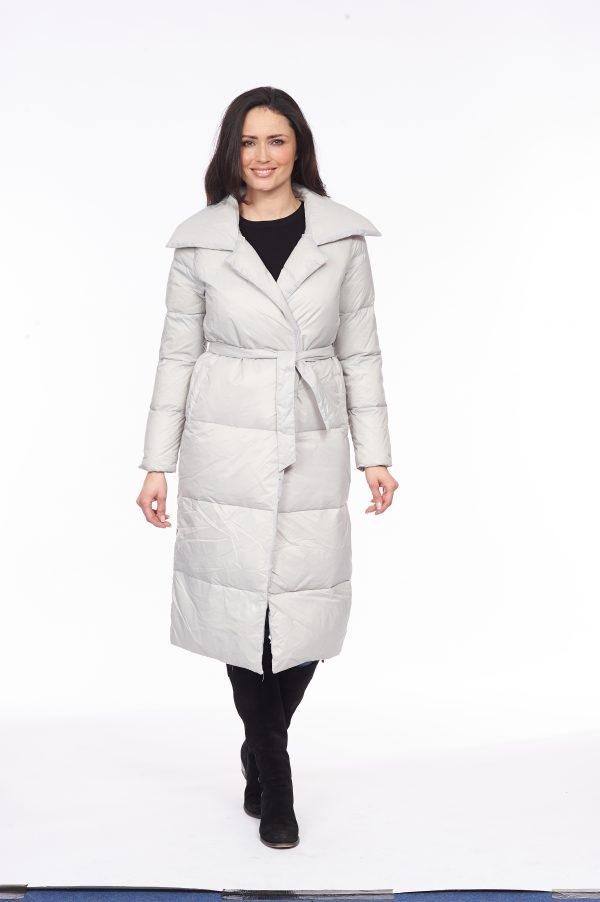 Side-Fasten-Long-Line-Wrap-Down-Coat-silver-front
