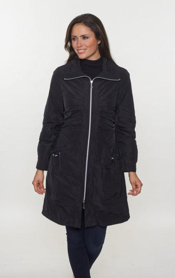 Rushed-Long-Line-Lightweight-Zip-Jacket-front-black