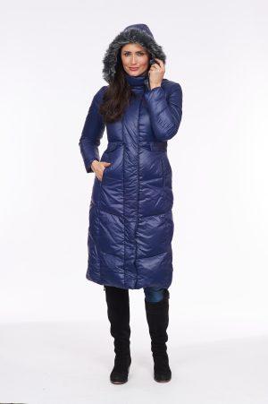 Fur-Trim-Long-Line-Coat-front-blue