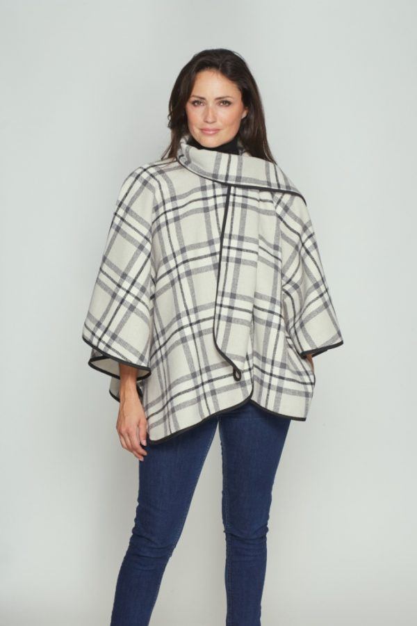 One-size-fits-all-cape-white-check