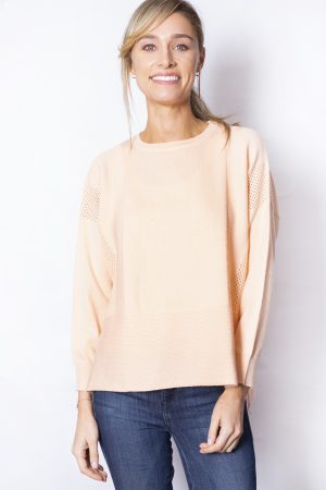 Dipped-Back-Hem-Jumper-front-pink