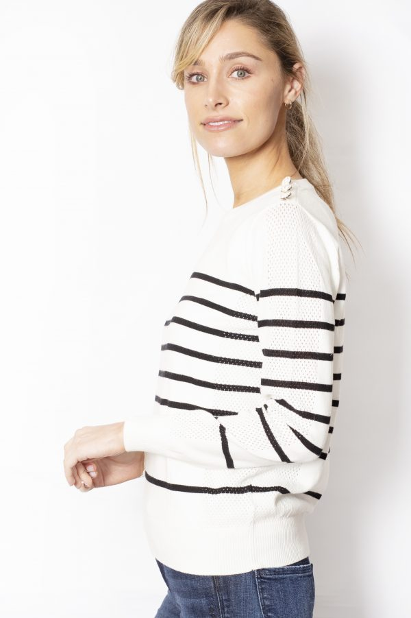 Crew-Neck-Jumper-with-Stripes-side-white