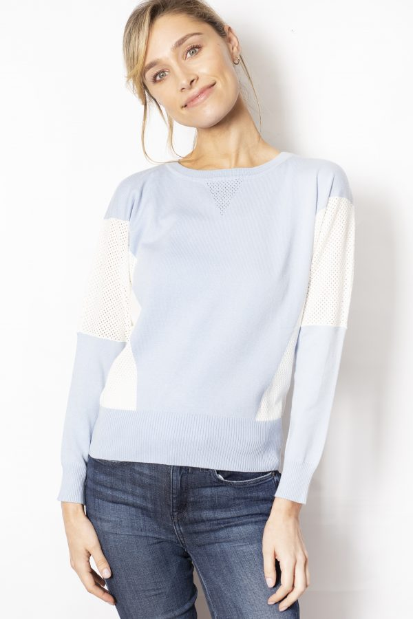 Colour-Block-Batwing-Jumper-front