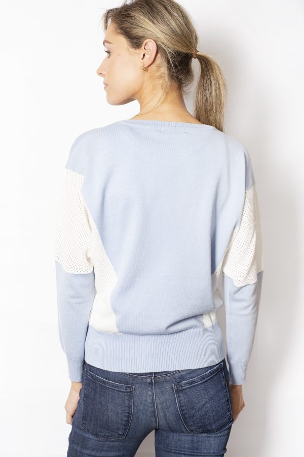 Colour-Block-Batwing-Jumper-back