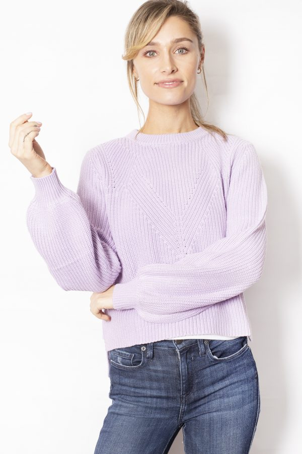 Detailed-knit-with-flared-sleeves-purple-front
