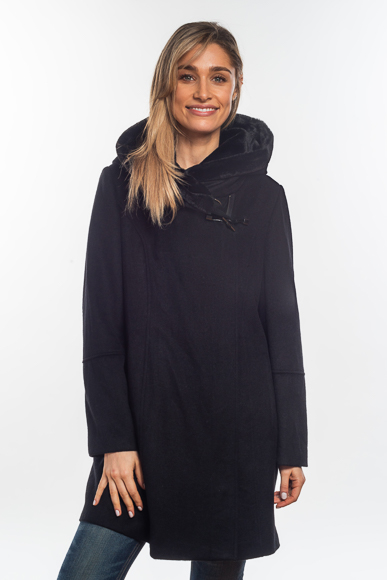Wool-blend-coat-with-fur-trim-in-hood-front