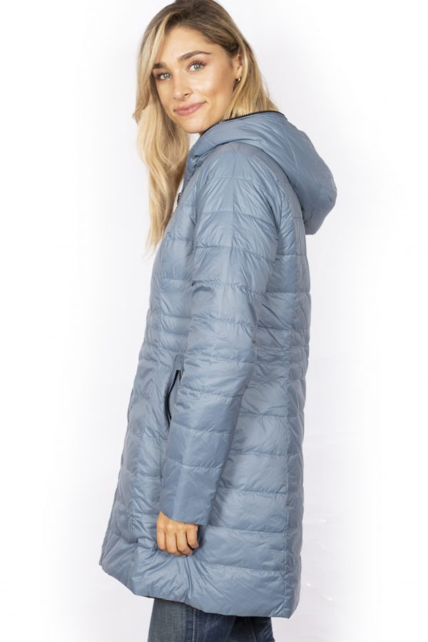 Reversible-three-quarter-Length-Down-Jacket-charcoal-side